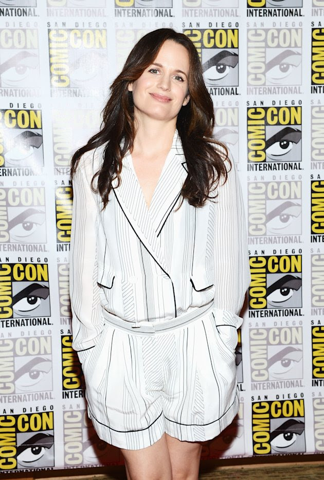 "Elizabeth Reaser at 2012 Comic-Con ""Breaking Dawn Part 2 "" event."