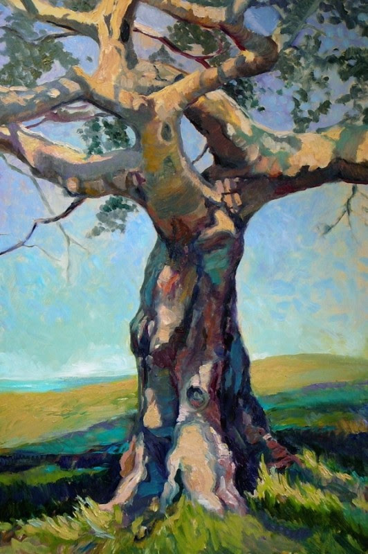 Tree Of Life By Susan Pitcairn, Oil Painting
