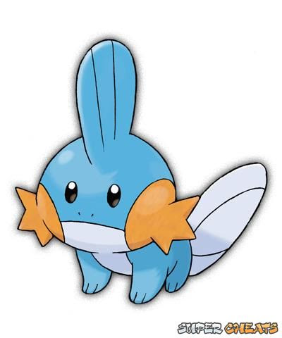 Mudkip  Pokemon Omega Ruby