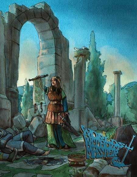 Worlds Without Master, Volume 1, Issue 4 - Dig a Thousand Holes Publishing | DriveThruRPG.com