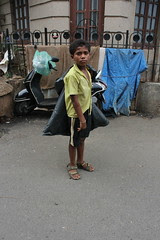 he picks the tissue that you blow your ego and throw .. the fucked ragpicker by firoze shakir photographerno1