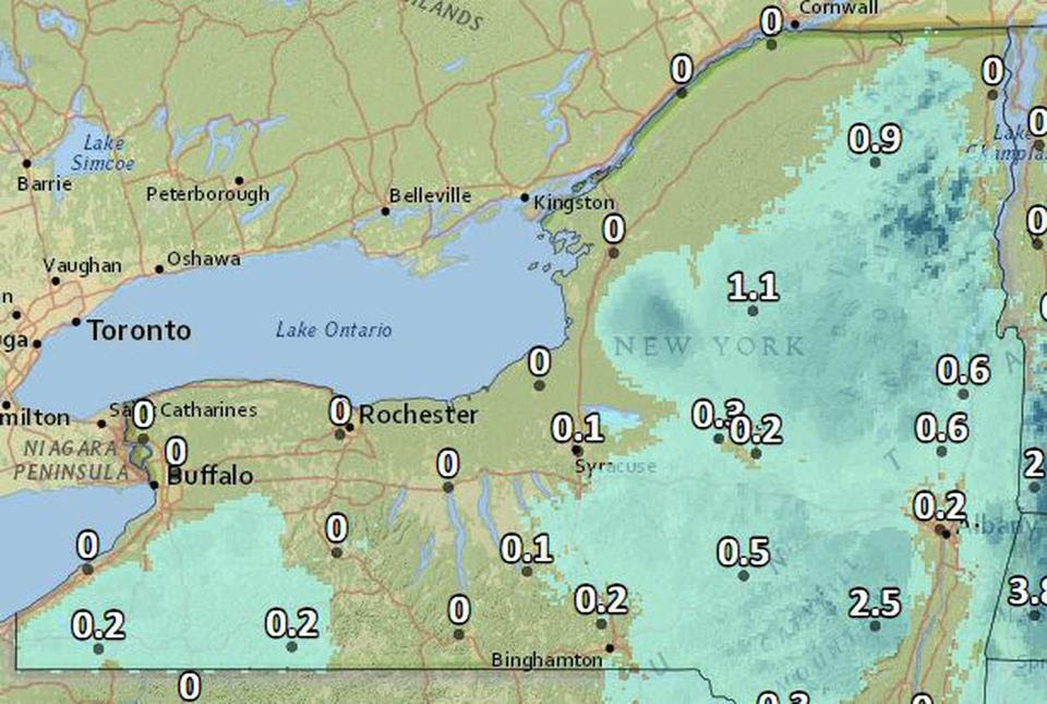 Snow's not done yet for parts of Upstate New York