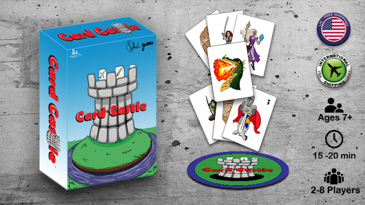 Card Castle - The fun and fast-paced fantasy slap card game!