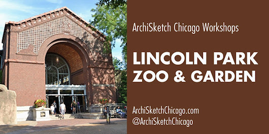 ArchiSketch: Lincoln Park Zoo & Garden