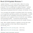 Revit 2014: Update Release 1 » BIMnova: Blog