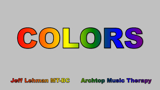 Colors - Archtop Music Therapy
