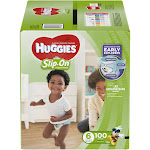 Huggies Little Movers Slip-On Diaper Pants, Size 6, 100 Count