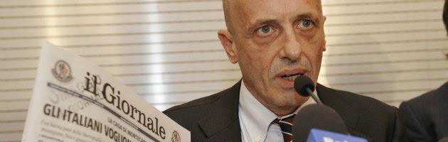 Attentato di Brindisi, Sallusti censurato dall'Ordine dei giornalisti
