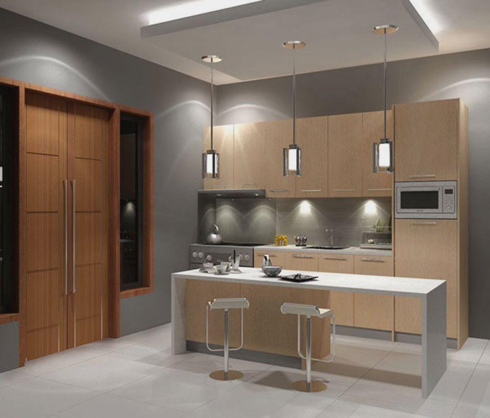 13 Model Plafon  Minimalis  Dapur  Keren dan Menarik RUMAH
