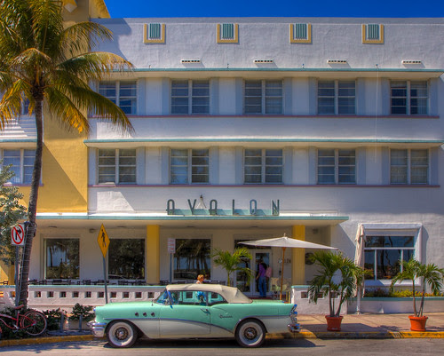 The Height of Fashion - in Miami Beach Art Deco District