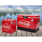 Koolatron Coca-Cola Ice Chest Cooler Combo