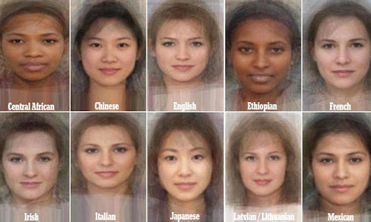 The average woman revealed: Study blends thousands to faces to find wh