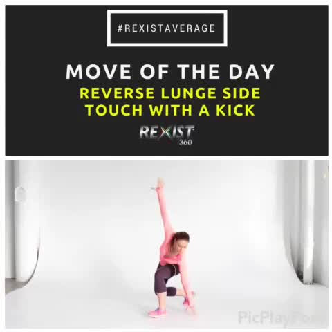 With today's #moveoftheday, you'll feel the 🔥 in your legs, #glutes and core! @ShayKostabi
