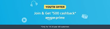 Amazon prime membership offer: Get Discount on Prime Yearly/Monthly Plans