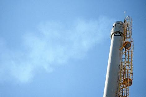 Planta de captura de CO2 de la Fundación Ciudad de la Energía en Cubillos del Sil, León. | EL MUNDO