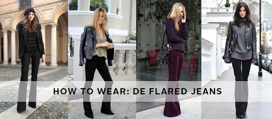 Hoe draag je flared jeans? | EDITED by OTTO