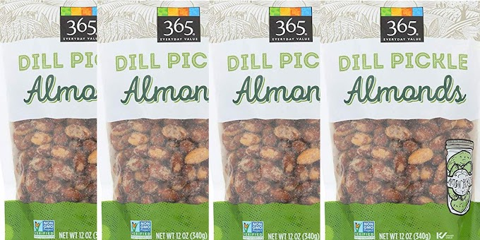 Whole Foods Is Selling Huge Bags Of Dill Pickle-Flavored Almonds