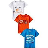 Status Quo Cubs Boys' T-Shirt (CUBS-180_Combo-01_32)
