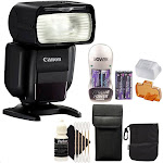 Canon Speedlite 430EX III Non RT Flash with Accessory Kit for Canon Digital SLR Cameras