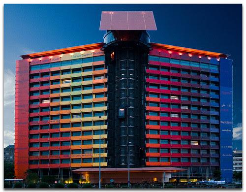 Hotel Puerta America, Madrid, Spain, by jmhdezhdez