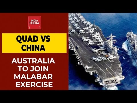 Quad Vs China: Australia To Be Part Of Malabar Exercise Next Month | Breaking News