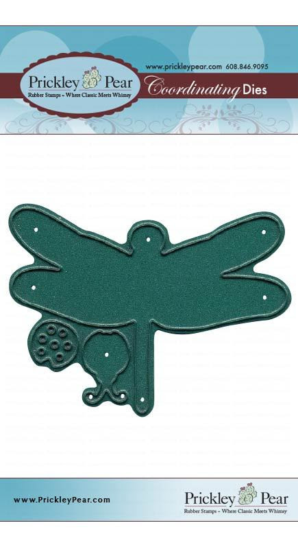 Complementing Die Set - PPRS-D021 Dragonfly (Not Included)