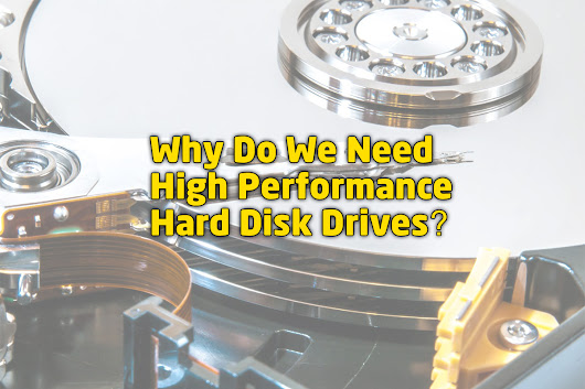 High Performance PCs Need High Performance Drives