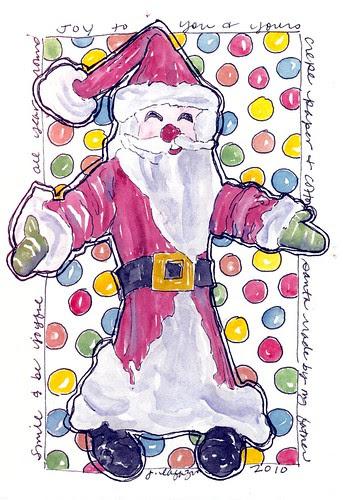 christmas card ~ in progress