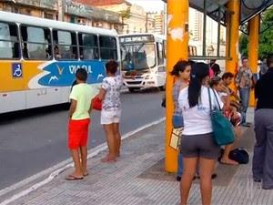 Ônibus Natal (Foto: Reprodução/Inter TV Cabugi)