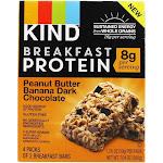 Kind Bar Protein Breakfast Bars Peanut Butter Banana Dark Chocolate 4 Pack(s)
