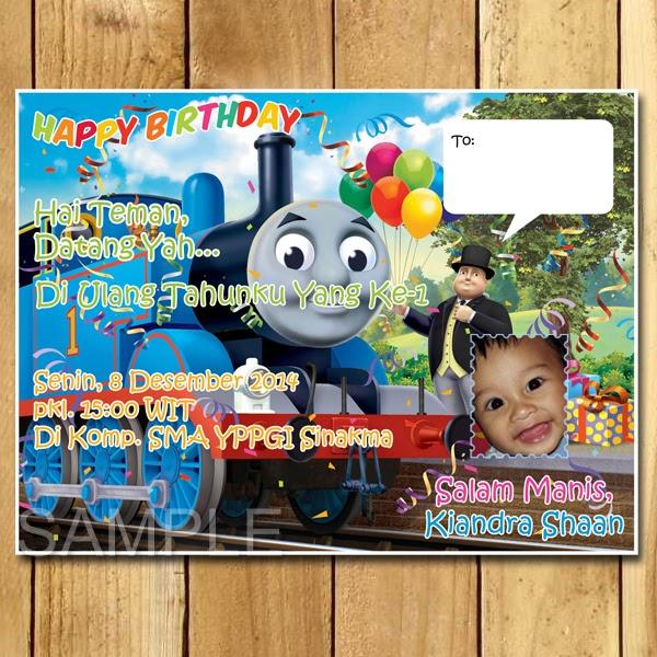 Contoh Kartu Undangan Ultah Anak Cowok - kartu ucapan souvenir