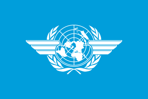 Flag of the International Civil Aviation Organ...