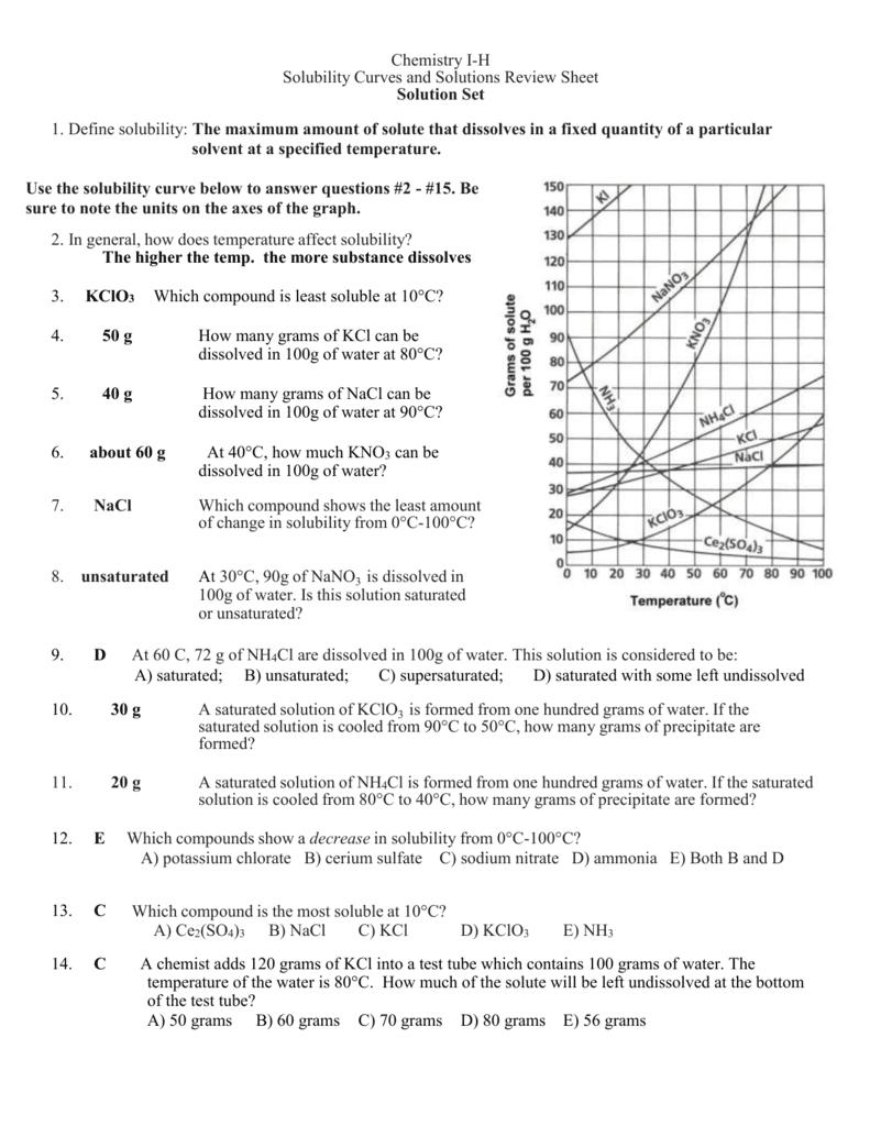 31 Interpreting Graphs Worksheet Answers Chemistry
