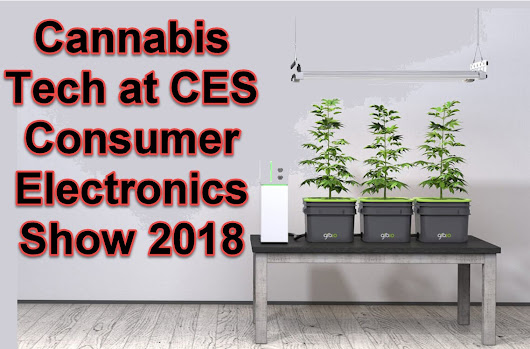 Cannabis Tech at CES – Consumer Electronics Show 2018