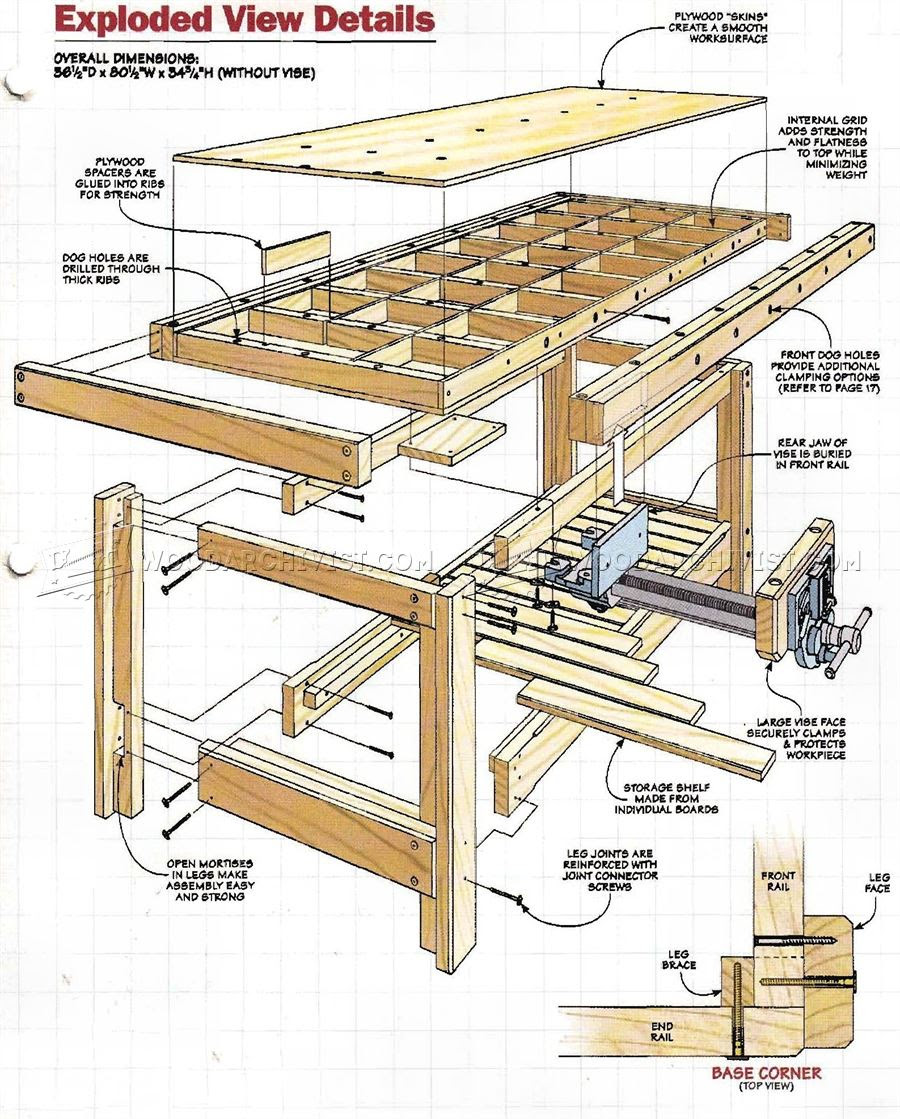Assembly Table For Woodworking Woodwork Sample