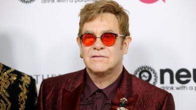Elton John celebró a lo grande su cumpleaños número 70