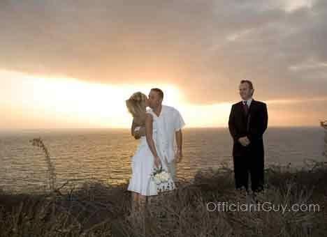 Private Wedding Ceremony OC & Los Angeles California