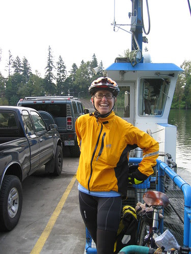 Cecil on the Canby Ferry