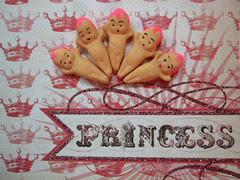 Exclusive Piddlestixs Pink Hair Kewpies