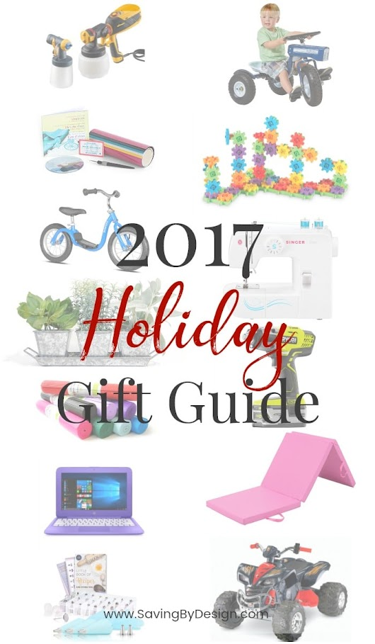 2017 Holiday Gift Guide - Find the perfect gift! | Saving by Design