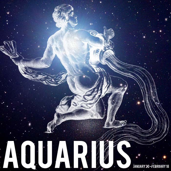 100 Gambar Zodiak Aquarius HD