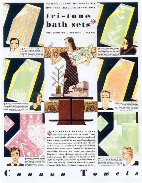 Cannon Towels, 1931
