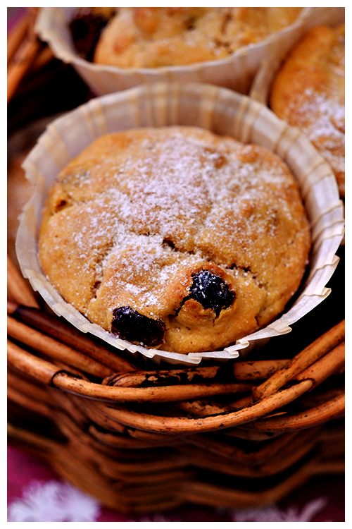 Apple and Inca Berry Muffins© by Haalo
