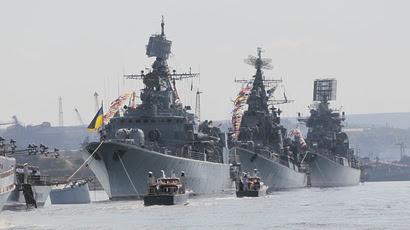 Ουκρανία: Παράδοση του Ναυτικού στη Μόσχα, τίτλοι τέλους