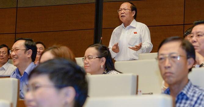 Hình ảnh Bộ trưởng khiến Quốc hội cười: Thà gây cười còn hơn gây ngủ! số 2