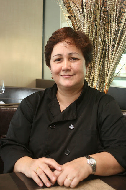 Chef Alicia Tivey is half-Indonesian, and trained with Tetsuya Wakuda in the 1990s