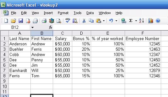 Technical Support: how to use the VLOOKUP function in Excel