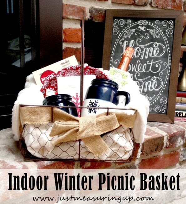Thrifty Indoor Winter Picnic Basket-Just Measuring Up-HMLP 123 Feature