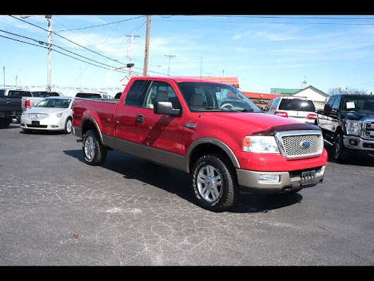 Used 2004 Ford F-150 Lariat SuperCab 4WD for Sale in Mt. Sterling  KY 40353 Oldfield's Used Cars