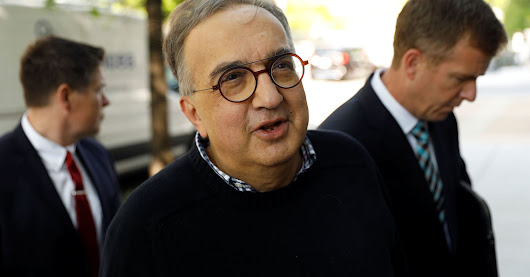 How Fiat Chrysler told employees Sergio Marchionne was being replaced